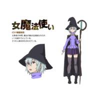Image of Female Magician