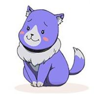 Image of Plum (wolf)