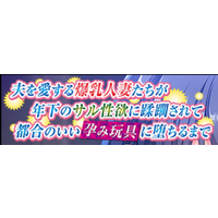 Otto o Aisuru Bakunyuu Hitozuma-tachi ga Toshishita no Saru Seiyoku ni Jurin sarete Tsugou no ii Harami Omocha ni Ochiru Made