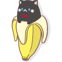 Image of Black Bananya