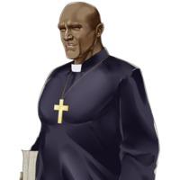 Image of Black Priest