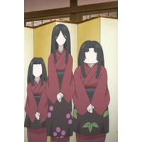 Image of Trio attendants (Ume, Matsu, Take)