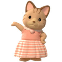 Image of Striped Cat Sister