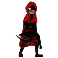 Image of Little Red Riding Hooded Mercenary