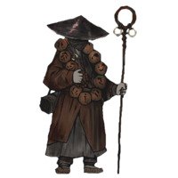 Image of Clouded Monk